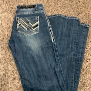 Rock & Roll cowgirl Jeans 27x36. awesome condition